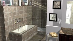 new fixtures and showers